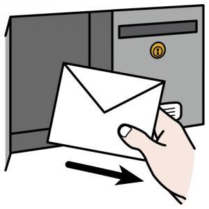 ricevere una lettera